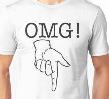 OMG! Naughty Bits (positive) Unisex T-Shirt