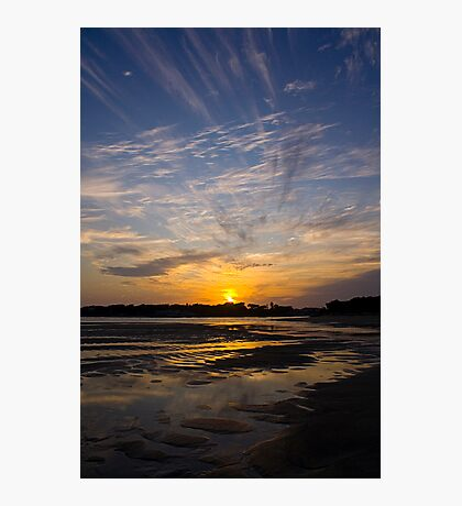 Low Tide, Barwon Heads Photographic Print