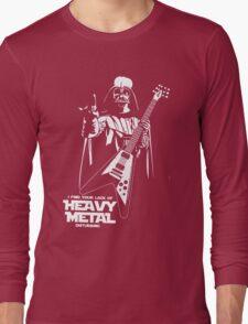 Funny Darth Vader Heavy Metal Long Sleeve T-Shirt