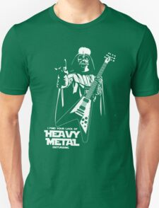 Funny Darth Vader Heavy Metal Unisex T-Shirt