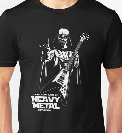 Funny Darth Vader Heavy Metal Unisex T-Shirt
