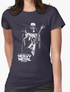Funny Darth Vader Heavy Metal Womens Fitted T-Shirt