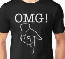 OMG! Naughty bits (reverse) Unisex T-Shirt