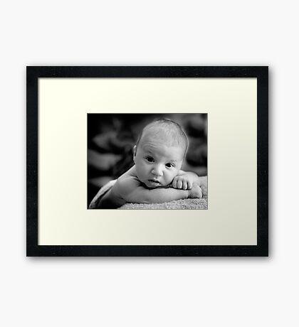 Portrait in Natural Light  Framed Print
