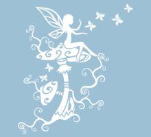Fairy, Magic Mushrooms, Butterflies, Fantasy by boom-art