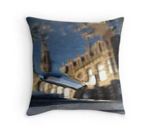Reflections of Amsterdam - Unhealthy Focus Throw Pillow