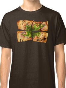 Monkey Island Special Edition Four Map Pieces game fan shirt Classic T-Shirt