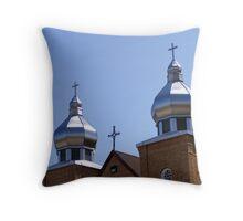 Ukrainian Church Throw Pillow
