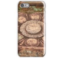 Stone Flower: At the Temple of the Woman, Banteay Srey, Siem Reap, Cambodia iPhone Case/Skin