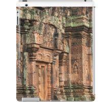 Temple in Pink, Banteay Srey: Siem Reap, Cambodia iPad Case/Skin
