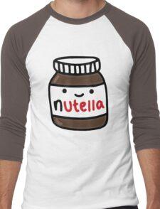 Nutella Cute Men's Baseball ¾ T-Shirt