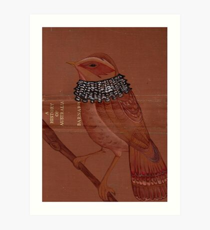beardee birdee Art Print