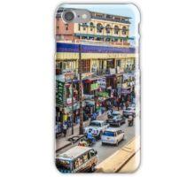 Meet me downtown iPhone Case/Skin