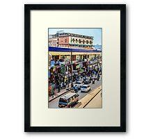 Meet me downtown Framed Print