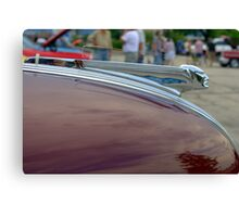 "1939 Pontiac Hood Ornament ""The Pontiac Chief""  Canvas Print"