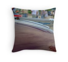 "1939 Pontiac Hood Ornament ""The Pontiac Chief""  Throw Pillow"