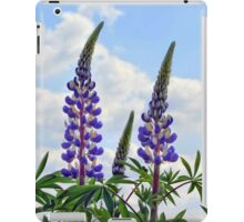 Leaning Lupins iPad Case/Skin