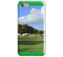 Cows and Clouds at Chatelherault iPhone Case/Skin