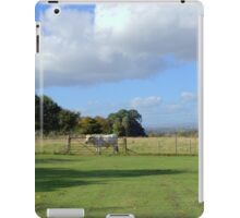 Cows and Clouds at Chatelherault iPad Case/Skin