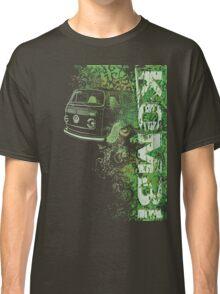 Volkswagen Kombi Tee shirt - Grunge Green Classic T-Shirt