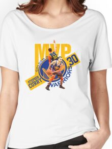 Stephen Curry #30 MVP Women's Relaxed Fit T-Shirt