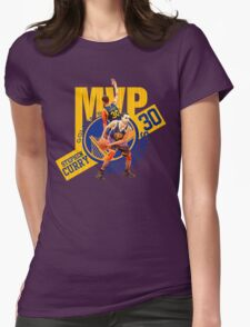 Stephen Curry #30 MVP Womens Fitted T-Shirt