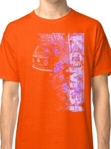 Volkswagen Kombi Tee shirt - Grunge Purple Classic T-Shirt