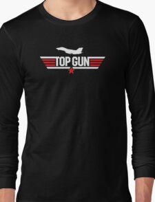 Top Gun Inspired 80's Movie Classic Goose Maverick Long Sleeve T-Shirt