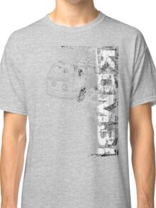 Volkswagen Kombi Tee shirt - Grunge black and white Classic T-Shirt