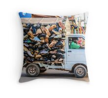 Did somebody say shoes? Throw Pillow