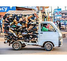 Did somebody say shoes? Photographic Print