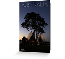 Australian Icons Greeting Card