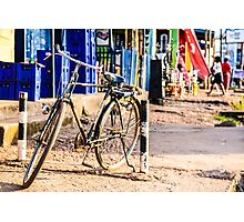 Bikes with a story Photographic Print