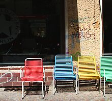 Coloured Chairs by willgill