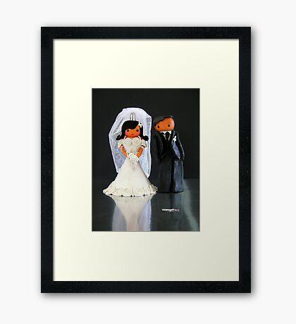 CHUNKIE Wedding Framed Print