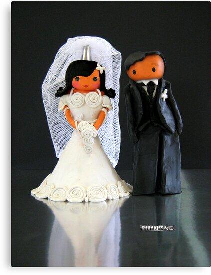 CHUNKIE Wedding by © Karin Taylor