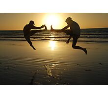 sunset kicks in in Broome Photographic Print