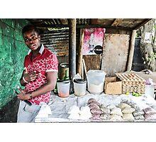 Market stall Photographic Print