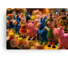Across the Crowded Room Canvas Print