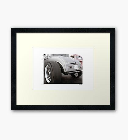 DONUT DERELICTS, Huntington Beach • 002 Framed Print
