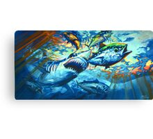 Sushi For Breakfast Canvas Print