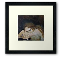 "Unspoken words...""Resentment"" series Framed Print"
