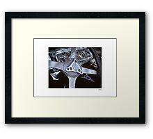 DONUT DERELICTS • 004 Framed Print