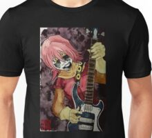 Black Metal Bass Girl Unisex T-Shirt
