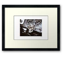 DONUT DERELICTS • 005 • 32 roadster Framed Print