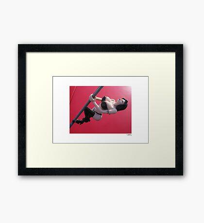 DONUT DERELICTS • 006 Framed Print