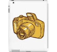 Digital Camera Drawing iPad Case/Skin