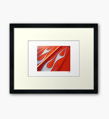 DONUT DERELICTS • 007 Framed Print