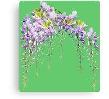 Cute watercolor flowers Canvas Print
