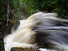 Manganese Falls in Spring by Karen Karl